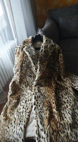 H & M Fake fur Mantel