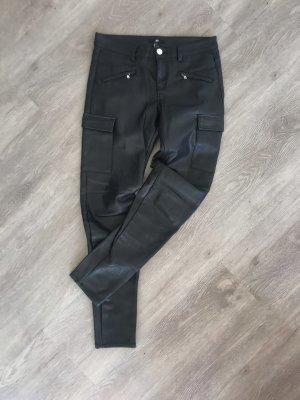 H&M fake Lederhose schwarz S 36 sehr gemütlich