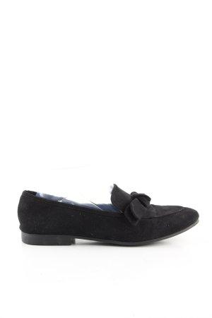 H&M faltbare Ballerinas schwarz Casual-Look