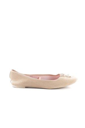 H&M faltbare Ballerinas creme Casual-Look