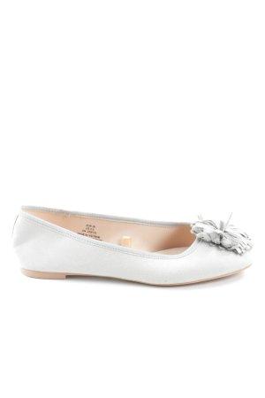 H&M faltbare Ballerinas hellgrau Casual-Look