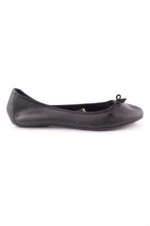 H&M Ballerines pliables noir style décontracté