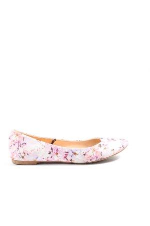 H&M faltbare Ballerinas pink Allover-Druck Casual-Look