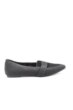 H&M Bailarinas plegables negro look casual