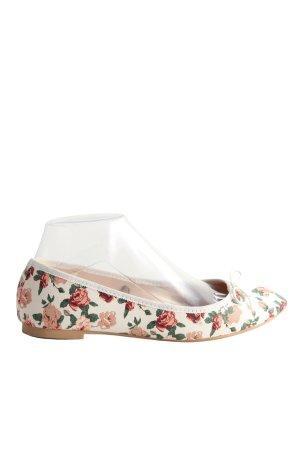 H&M faltbare Ballerinas Blumenmuster Casual-Look