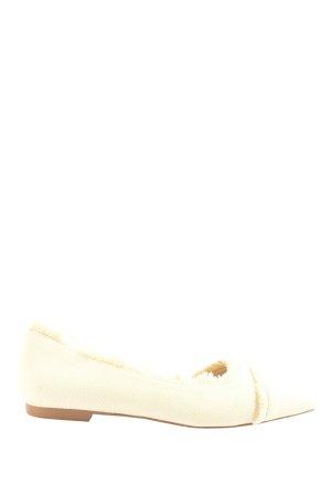 H&M Ballerines pliables blanc cassé style décontracté