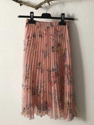 H&M Plisowana spódnica różowy