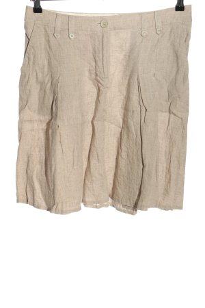 H&M Plisowana spódnica w kolorze białej wełny W stylu casual