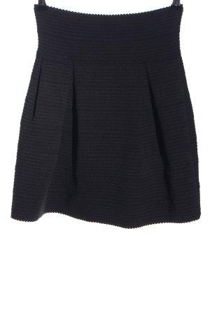 H&M Plaid Skirt black business style