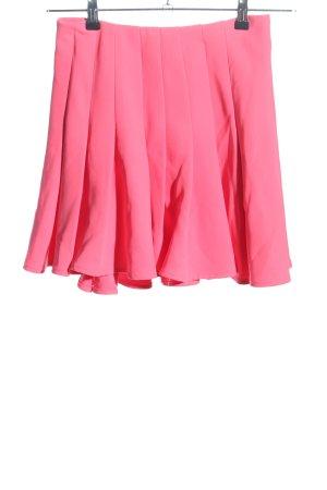 H&M Faltenrock pink Casual-Look