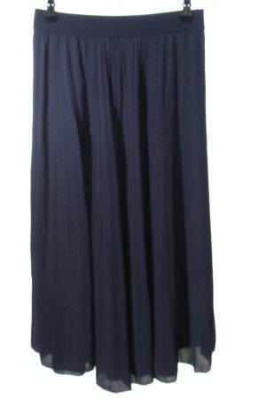 H&M Plaid Skirt blue casual look