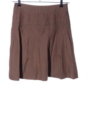 H&M Gonna a pieghe marrone stile casual