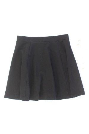H&M Faltenrock Größe M schwarz aus Viskose