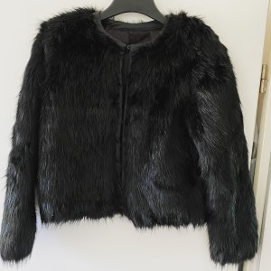 H&M Faux Fur Jacke - in XS / 34