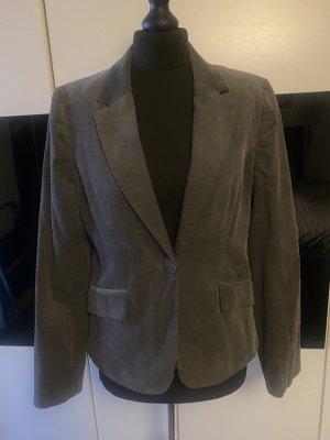 H&M Boyfriend blazer grijs-donkergrijs