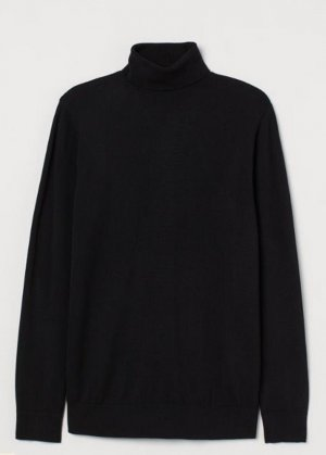 H&M Feinstrick Rolli Rollkragenpulli Pulli Pullover Turtleneck
