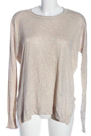 H&M Feinstrickpullover pink meliert Casual-Look