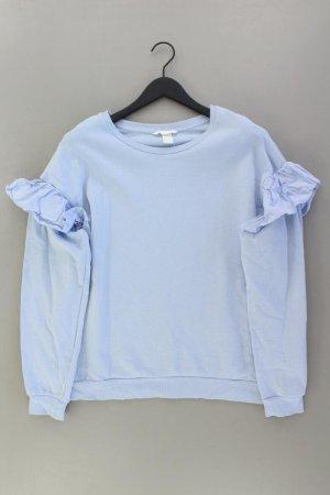 H&M Feinstrickpullover Größe L blau aus Baumwolle