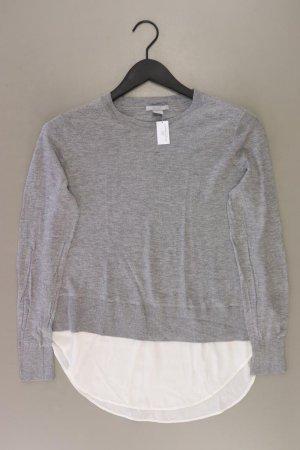 H&M Feinstrickpullover Größe M grau aus Polyester