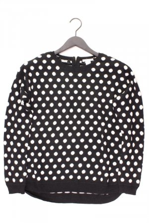 H&M Feinstrickpullover Größe S gepunktet schwarz aus Polyacryl