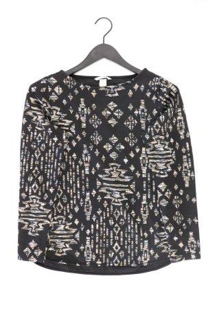 H&M Feinstrickpullover Größe S schwarz aus Polyester