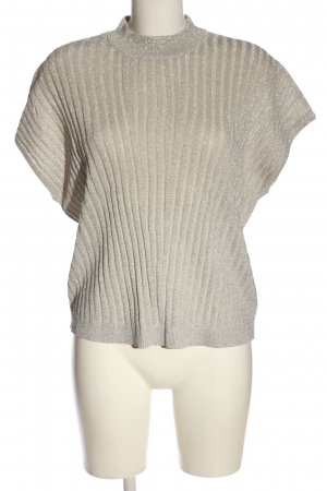 H&M Fine Knitted Cardigan natural white casual look