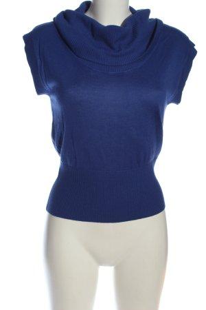 H&M Fijn gebreide cardigan blauw casual uitstraling