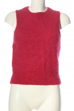H&M Fine Knitted Cardigan red casual look