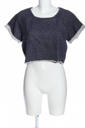 H&M Feinstrickpullunder blau Casual-Look