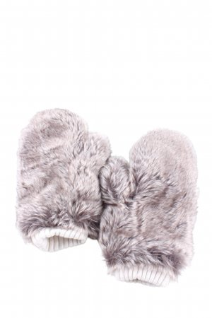 H&M Fur Gloves light grey casual look