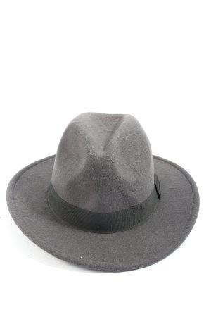 H&M Cappello in feltro grigio chiaro stile casual
