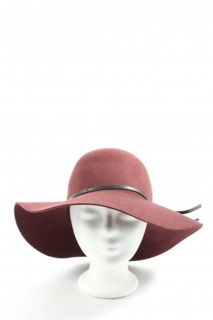 H&M Felt Hat pink casual look
