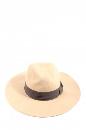 H&M Felt Hat cream-brown casual look