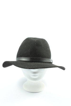 H&M Cappello in feltro nero stile professionale