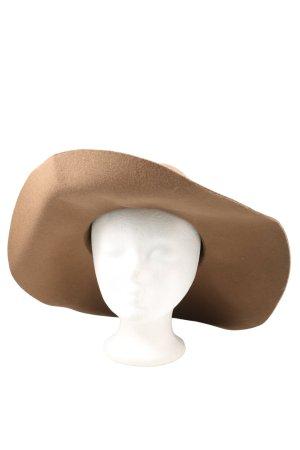 H&M Chapeau en feutre brun style décontracté