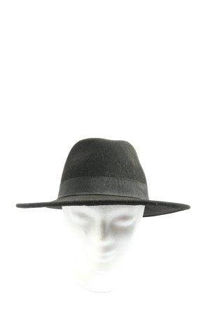 H&M Cappello in feltro nero stile casual