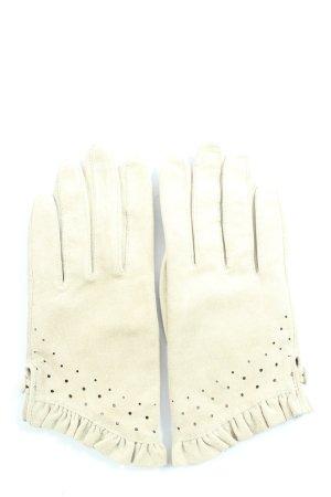 H&M Gant à doigts blanc cassé style décontracté