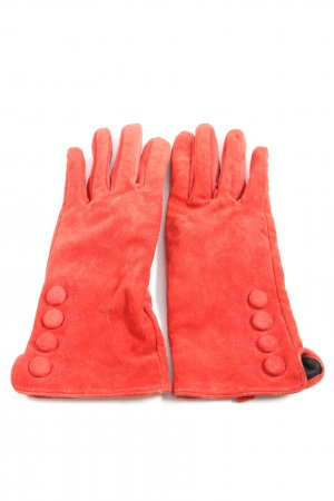H&M Gloves red casual look