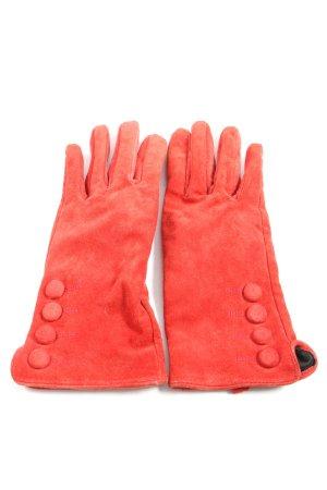 H&M Gant à doigts rouge style décontracté