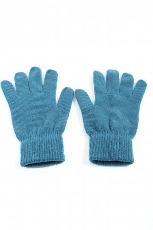 H&M Gloves blue casual look