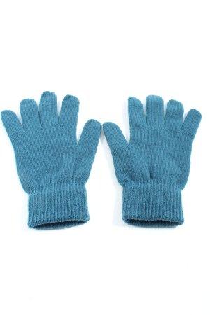 H&M Gant à doigts bleu style décontracté