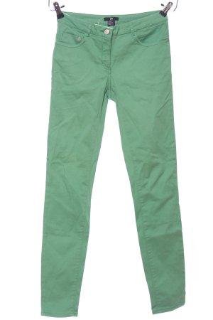 H&M Five-Pocket-Hose grün Casual-Look