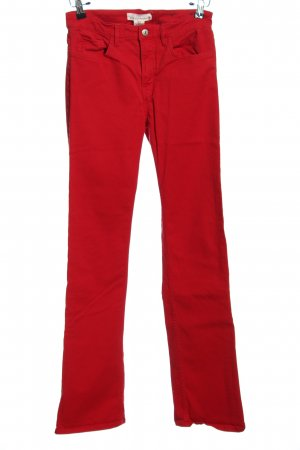 H&M Five-Pocket-Hose rot Casual-Look