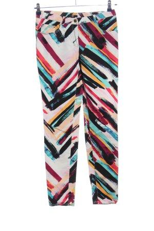 H&M Pantalon cinq poches motif abstrait style décontracté