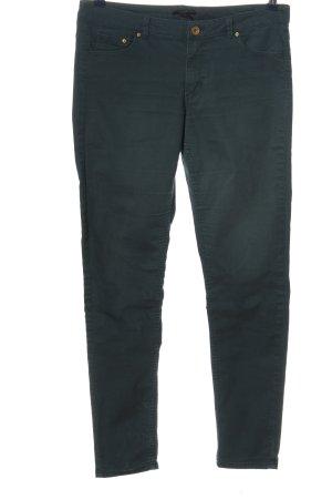 H&M Pantalón de cinco bolsillos verde look casual