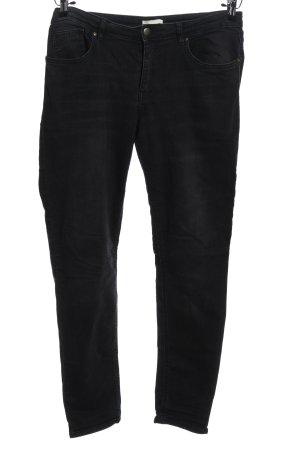 H&M Spodnie z pięcioma kieszeniami czarny W stylu casual