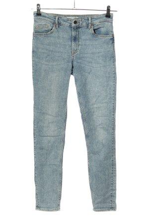 H&M Vijfzaksbroek blauw casual uitstraling