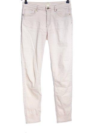 H&M Five-Pocket-Hose weiß Casual-Look