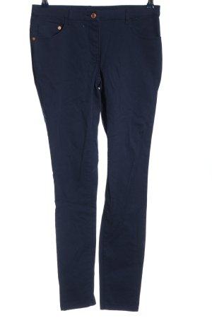 H&M Five-Pocket-Hose blau Casual-Look