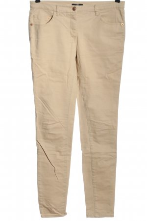 H&M Five-Pocket-Hose creme Casual-Look